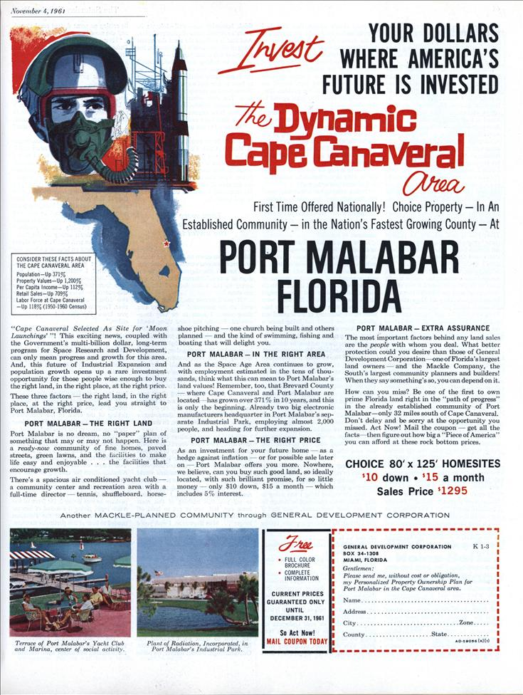 Port Malabar Swallows up Most of the City of Palm Bay