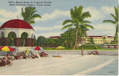 Vintage Postcard Punta Gorda, Florida