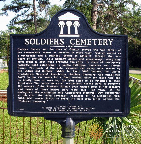 Quincy, Florida Soldiers Cemetery