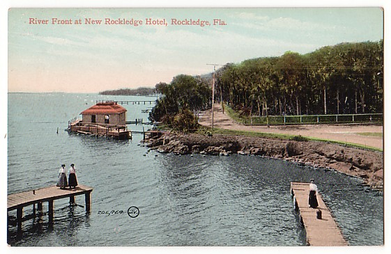 Vintage Postcard Rockledge, Florida