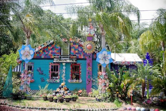 Safety Harbor Residence Known as Whimzeyland