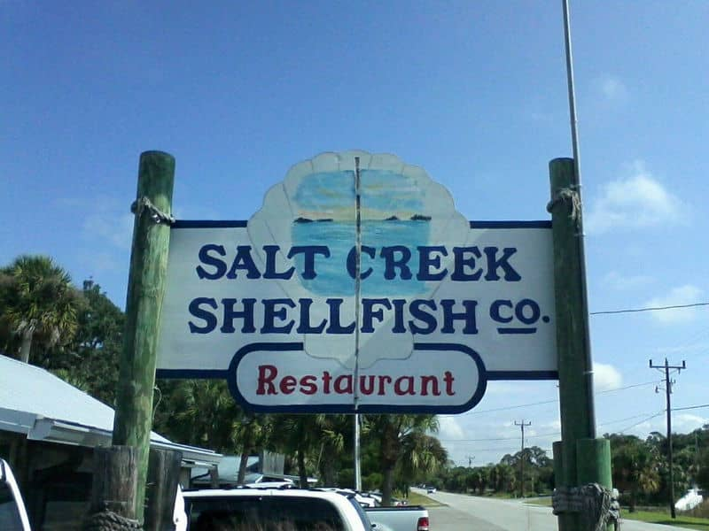 Salt Creek Shellfish Co. in Suwannee, Florida