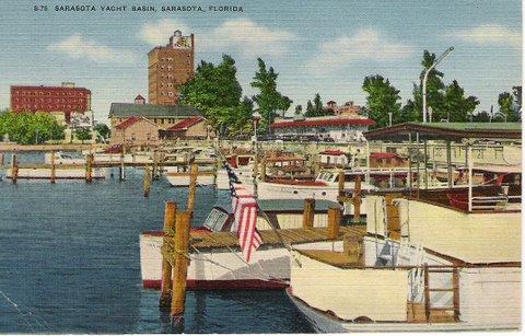 Vintage Postcard Sarasota, Florida