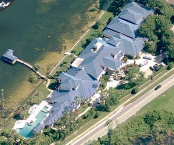 Former home of NBA Legend Shaq O'Neal in Windermere, Florida