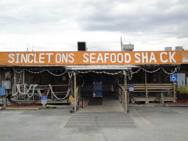 Singleton's Seafood Shack in Mayport