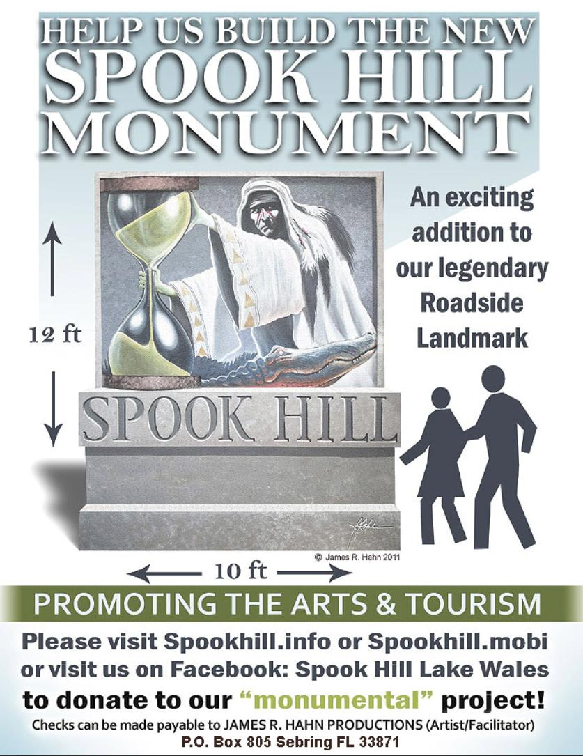 Spook Hill Monument Poster