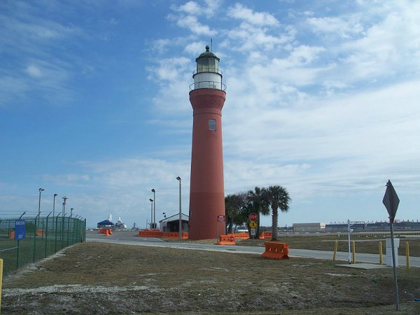 St Johns River Light at Mayport