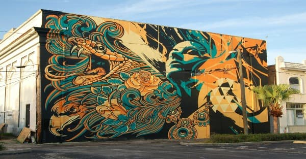 Florida Murals Brighten The Buildings Of Towns And Cities