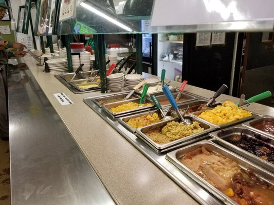 Buffet at Steph's Southern Soul, Dade City