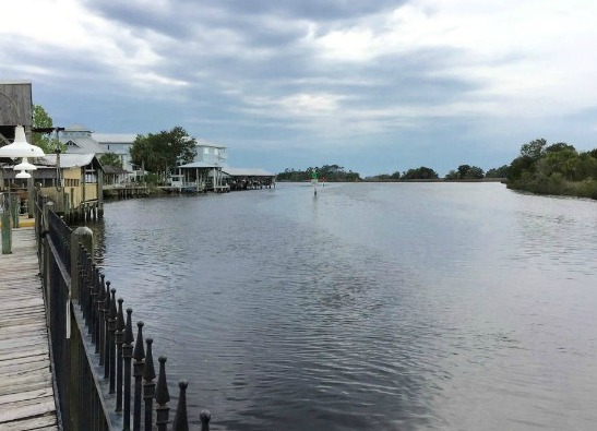 Old Florida Waterfront Restaurant