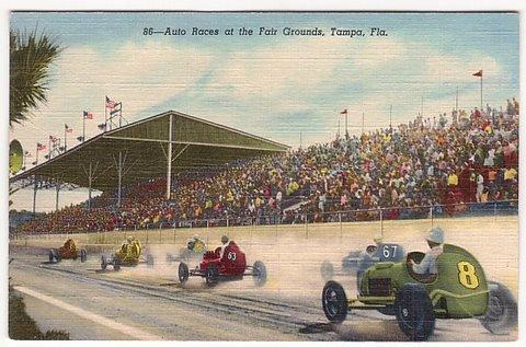 Vintage Postcard Tampa, Florida