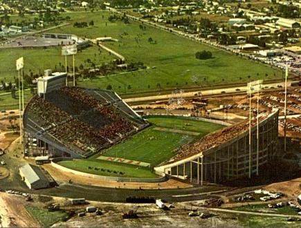 Tampa Stadium Circa 1969