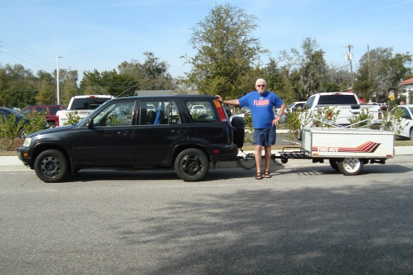 Honda CRV and Time Out Camper