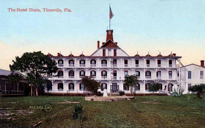 Vintage Postcard, Titusville, Florida