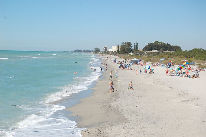 Beach in Venice, Florida