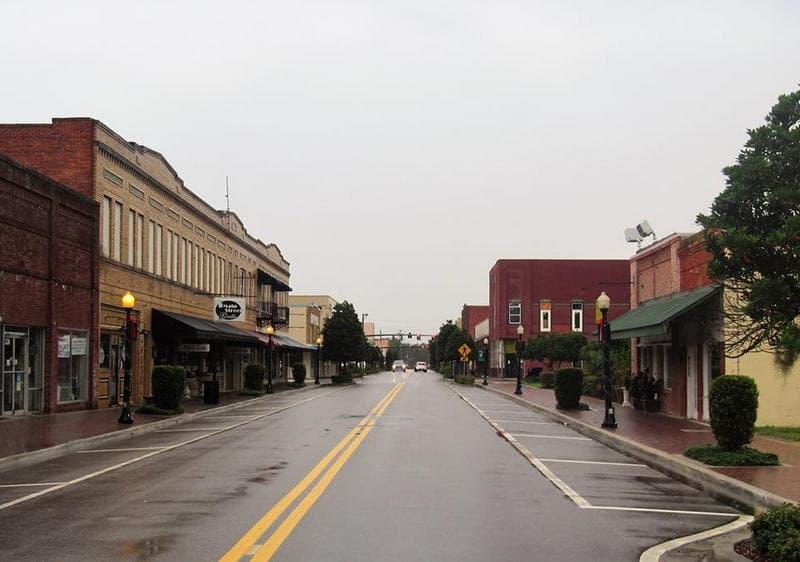 Downtown Wauchula, Florida