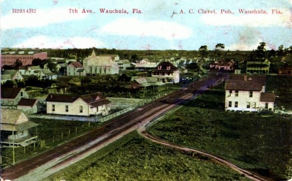 Vintage Postcard Wauchula, Florida