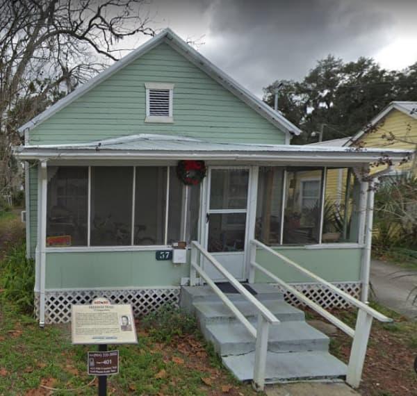 Willie Galimore St. Augustine Home