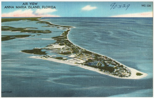 Aerial View of Anna Maria Florida