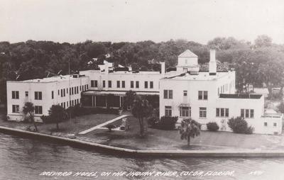 Brevard Hotel 1940s