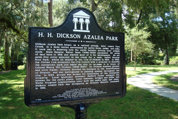 Orlando Dickson Azalea Park