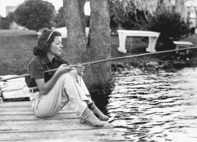 Frances Langford in Florida 1940s