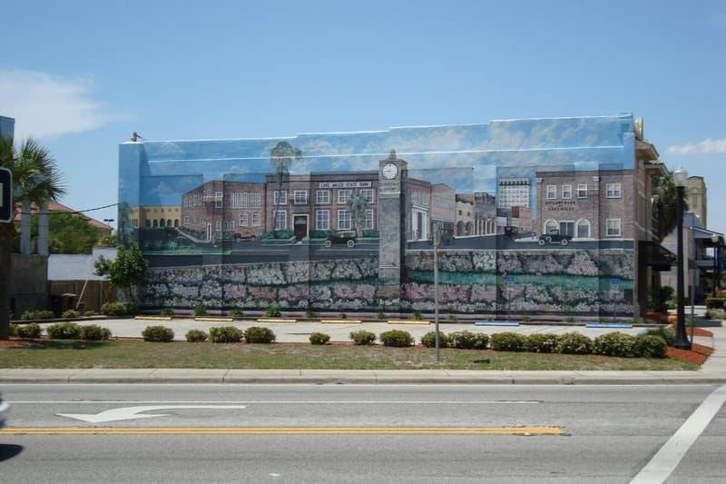 Lake Wales Florida Mural