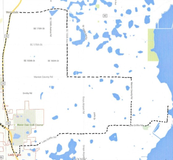 Eustis Florida Map.Central Florida Road Trips And Scenic Drives With Maps