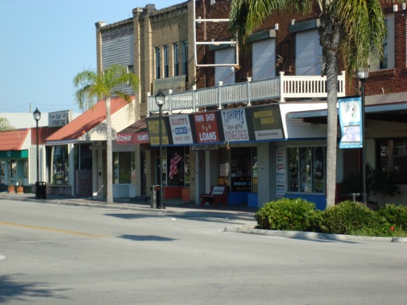 Okeechobee Florida Downtown