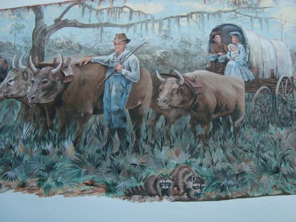 Okeechobee Florida mural.