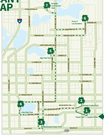 Orlando Significant Tree Map