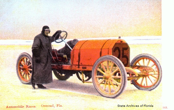 Vintage Postcard Ormond Beach, Florida