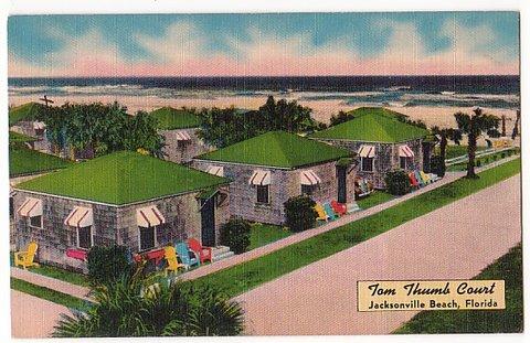 Vintage Postcard Jacksonville Beach, Florida