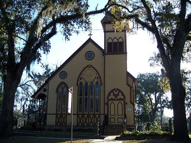 Monticello Florida Christ Episcopal Church