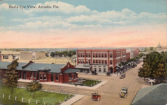 Arcadia, Florida Birds Eye View