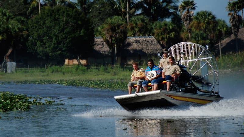 Billie Swamp Safari Airboat