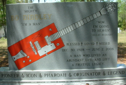 Bo Diddley Grave Bronson Florida