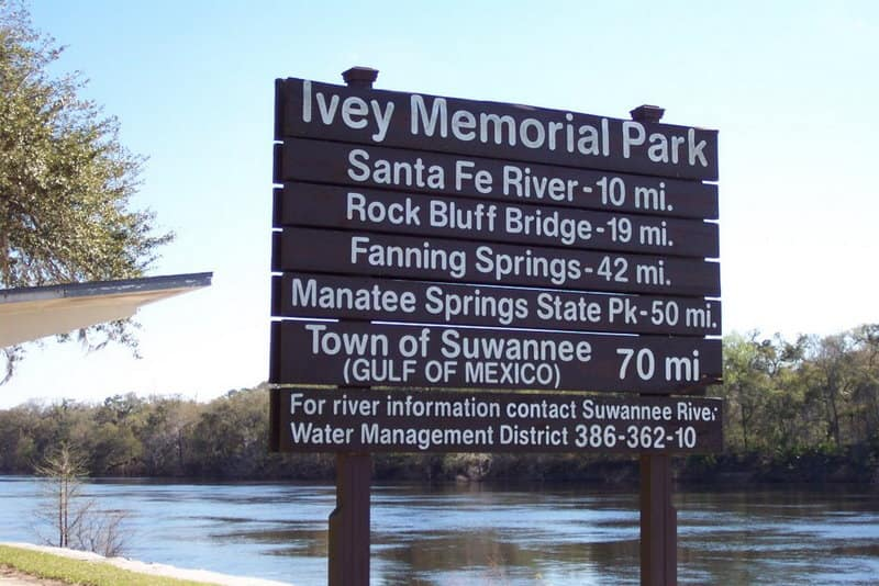 Branford, Florida Ivey Memorial Park