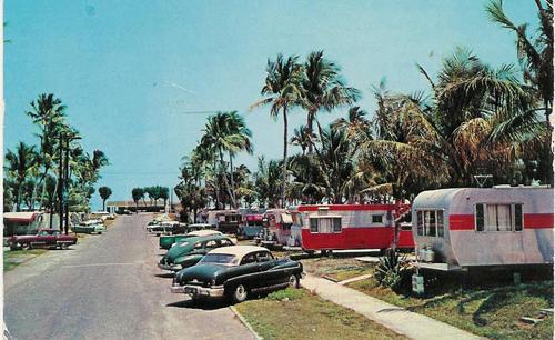 Vintage Postcard Briny Breezes, Florida