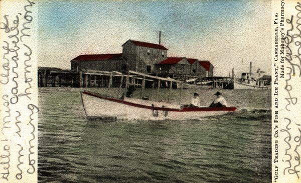 Vintage Postcard Carrabelle, Florida
