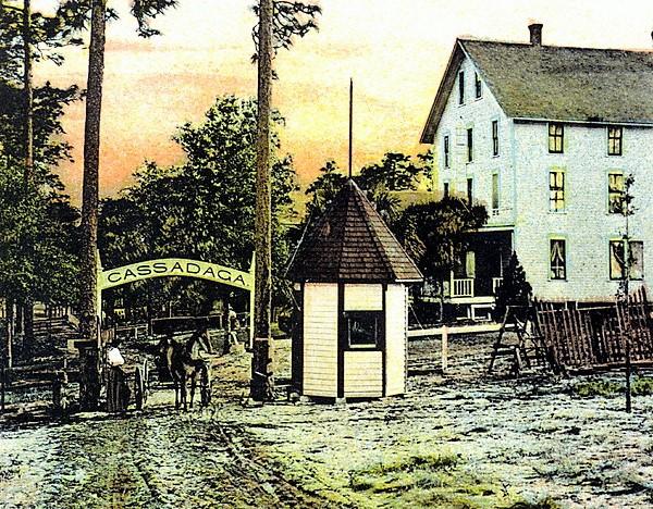 Vintage Postcard Cassadaga, Florida