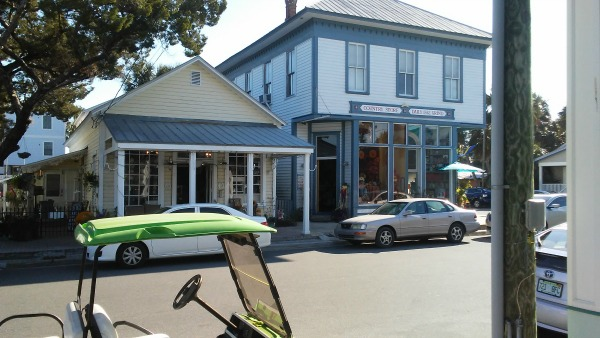 Downtown Shops in Cedar Key