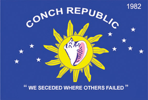 Flag of the Conch Republic