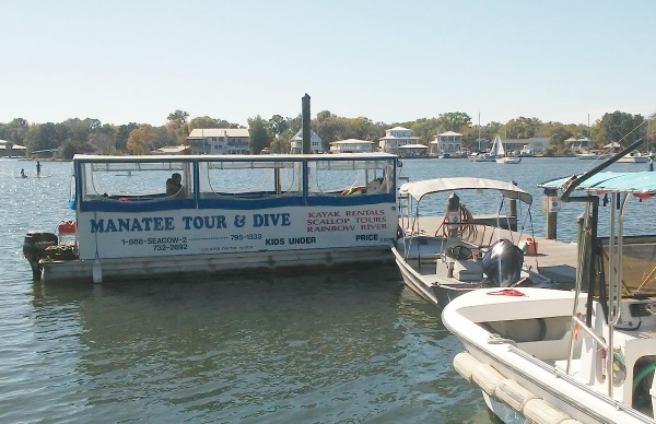 Crystal River Tour Boat