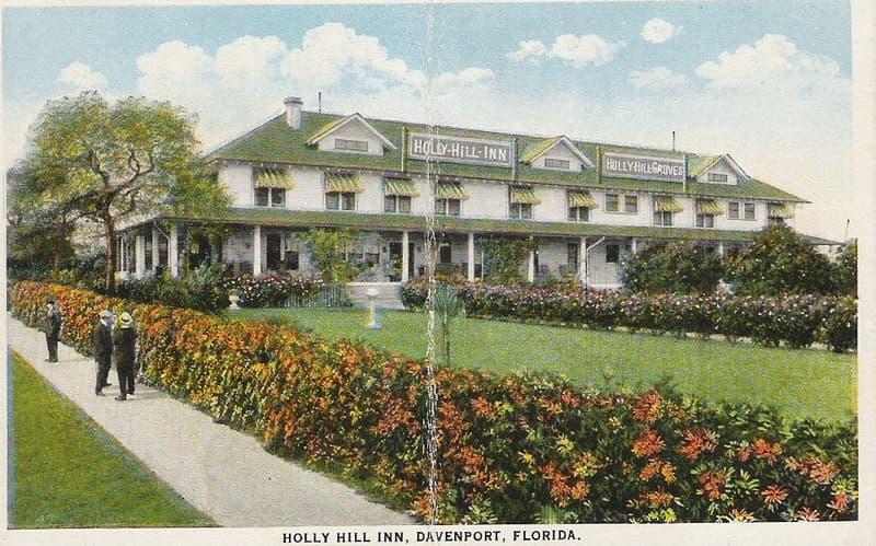 Vintage Postcard, Davenport, Florida