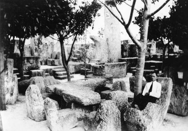 Coral Castle with Ed Leedskalnin