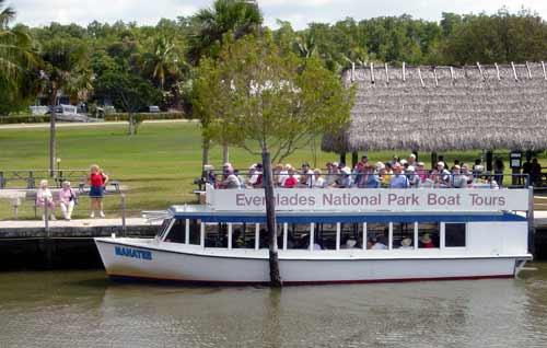 Everglades National Park Tour Boat