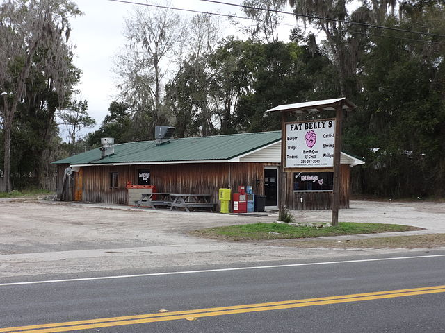 Fat Belly's, White Springs, Florida