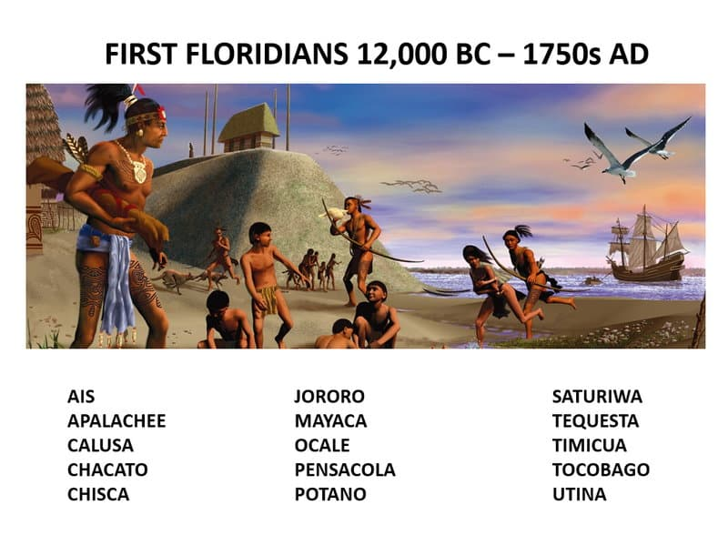 Original Florida Native American Tribes