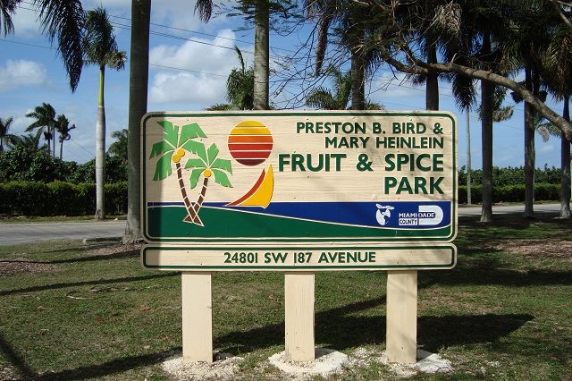 Fruit and Spice Park, Miami-Dade County